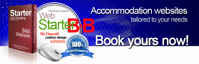 Accommodation_Website_design_B&B_package