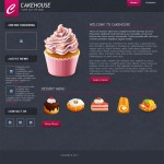 CakeHouseTemplate - Preview