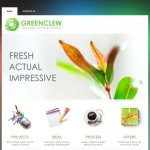 R 39-month Template website Fresh Green - template