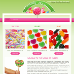 R 39-month Template website - Sweetie Pie template