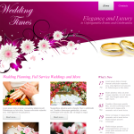 R 39-month Template website Wedding template