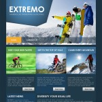 R 39-month Template website Xtreme template